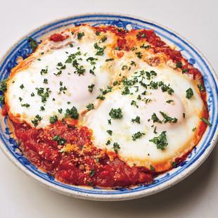 卵のトマト煮