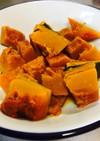 [砂糖不使用]フライパンでかぼちゃの煮物