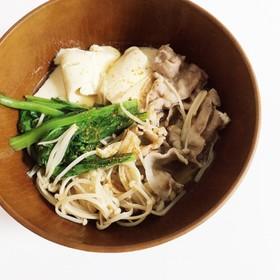 めんつゆで簡単肉豆腐♡