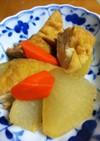 厚揚げと大根の煮物(減塩レシピ)