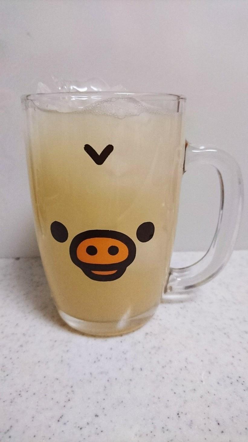 大根おろし汁でダイエット☆リンゴジュース