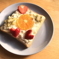 バレンタイン&ホワイトデーに♡のっけパン