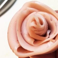 お弁当に!おさかなソーセージのお花♡