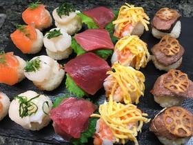おもてなしに!手鞠寿司