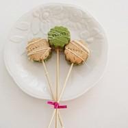 ホワイトデー☆ポップクッキー