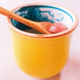 昆布水と梅干しでリアル梅昆布茶