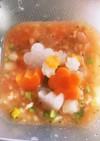 離乳食 ミネストローネ風スープ