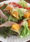 オレンジと鯛のカルパッチョ風サラダ♡