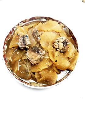 ☆鯖水煮缶詰と大根の煮物☆