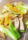 ゆず味噌の春キャベツ炒め