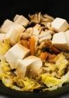 鶏肉のすき焼き☆鶏むね肉のすき焼き鍋