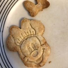 ノンシュガー型抜きクッキー