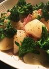 大根★ジャガイモ&ベーコンの洋風煮物