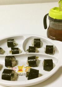 【2歳児朝食】ミニミニおにぎり
