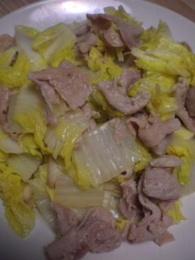 豚肉と白菜 旨味しみしみ炒め