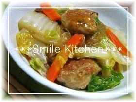 ✿白菜と肉団子のとろ~り煮込み✿