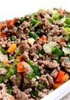 【作り置き】野菜いっぱい!肉そぼろ