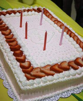 スクエア*バースデイケーキ