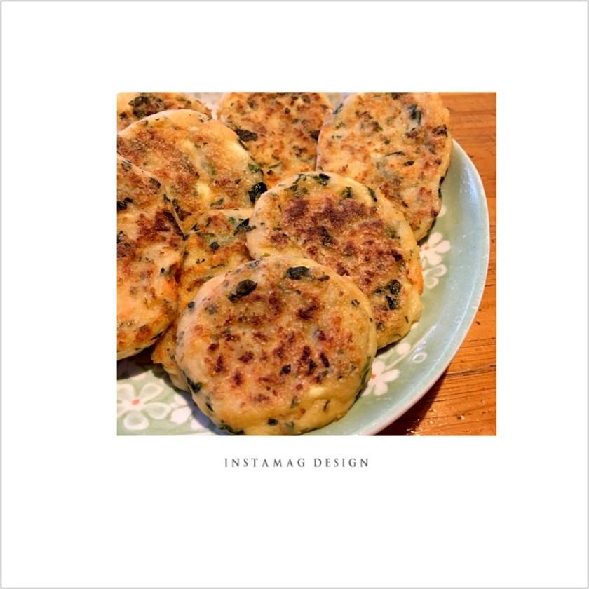 離乳食♡後期 «鮭と豆腐のハンバーグ»