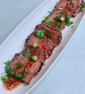 市販の焼肉タレで 簡単  ローストビーフ