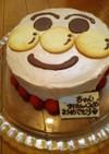あんぱんマンケーキ