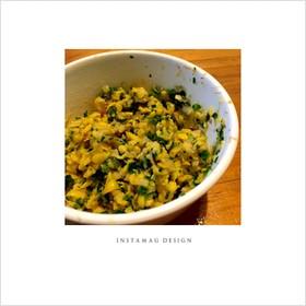 離乳食♡後期《コーンと小松菜のサラダ》