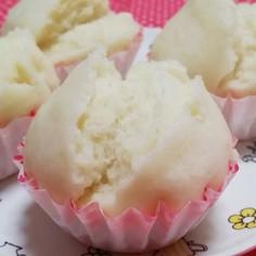 朝ごはんに☆シンプルな基本の蒸しパン