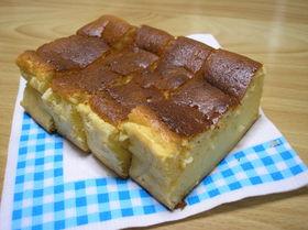 メレンゲでやわらかベイクドチーズケーキ