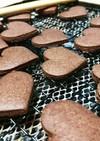 オリゴ糖とココアのほろ苦クッキー
