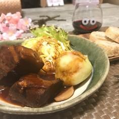 トロトロほろほろ★豚バラの赤ワイン煮