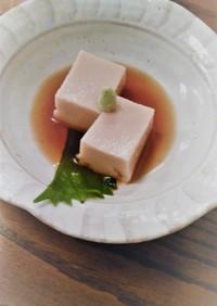 誰でも簡単・手作りごま豆腐