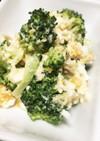 ブロッコリーのツナマヨ卵サラダ