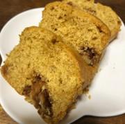 カルディの黒糖クルミのパウンドケーキの写真