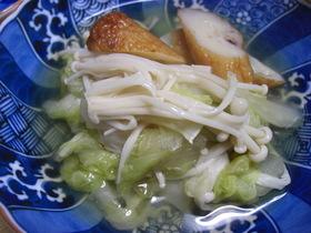 はんぺんと白菜のさっと煮