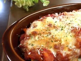 【節約*簡単】コロッケのトマトグラタン
