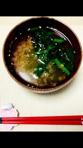 妊娠授乳期にも!出汁で美味しい簡単スープ