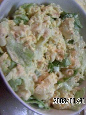 マカロニ卵サラダ