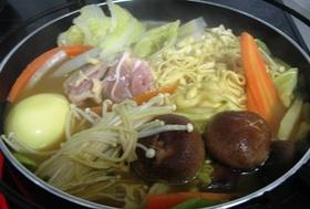 """""""艶うどん""""でカレー鍋♪"""