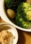 温野菜&ケチャップクリームチーズディップ