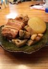絶品・蓮根と大根のとろとろ豚角煮