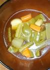 中華によく合う♪ ニンニク野菜スープ!