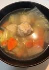 ✨旨塩❀鶏肉団子スープ✨