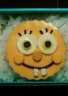 クッキー型de簡単スポンジボブ キャラ弁