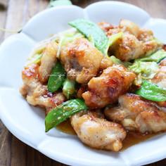 春野菜と鶏肉のピリ辛味噌炒め