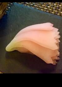 桜の和菓子 ういろう製 八重桜