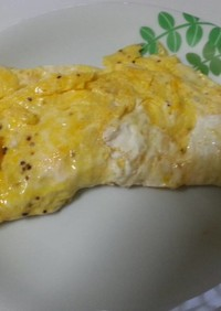 チーズオムレツ