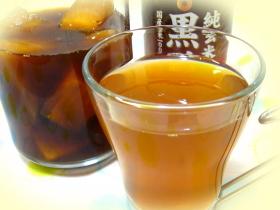 黒糖パインの黒酢サワー