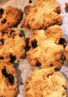 レーズンコーンフレークのヘルシークッキー