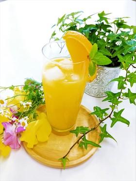 アロエエキス入りオレンジジュース♪