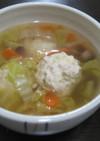 塩こうじの鶏団子スープ